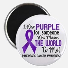 Pancreatic Cancer MeansWorldToMe2 Magnet
