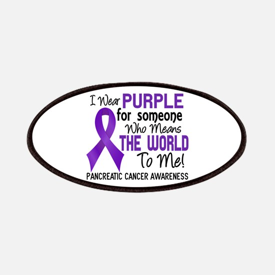 Pancreatic Cancer MeansWorldToMe2 Patch