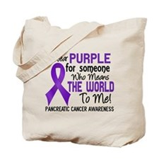Pancreatic Cancer MeansWorldToMe2 Tote Bag