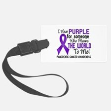Pancreatic Cancer MeansWorldToMe Luggage Tag