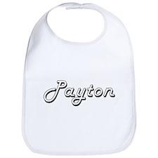 Payton Classic Style Name Bib