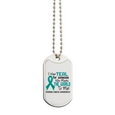Ovarian Cancer MeansWorldToMe2 Dog Tags