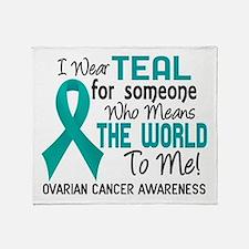 Ovarian Cancer MeansWorldToMe2 Throw Blanket