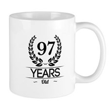 97 Years Old Mugs