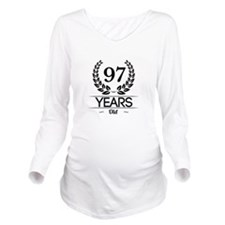 97 Years Old Long Sleeve Maternity T-Shirt