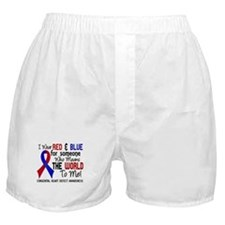 Congenital Heart Defect MeansWorldToM Boxer Shorts