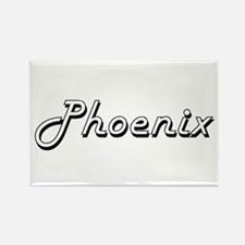 Phoenix Classic Style Name Magnets
