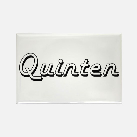 Quinten Classic Style Name Magnets