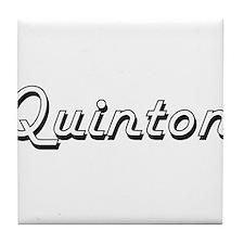 Quinton Classic Style Name Tile Coaster