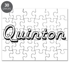 Quinton Classic Style Name Puzzle
