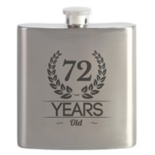 72 Years Old Flask