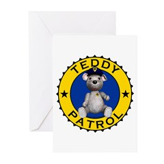 Teddy Patrol Greeting Cards (Pk of 20)