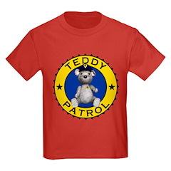 Teddy Patrol Kids T-Shirt Dark Colored