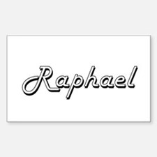 Raphael Classic Style Name Decal