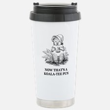 Quality Pun Stainless Steel Travel Mug