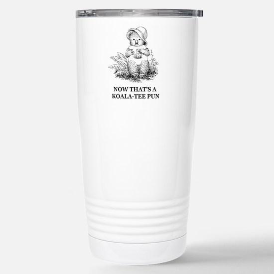 Quality Pun Stainless Steel Travel Mug