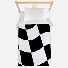 Checkered Flag Twin Duvet