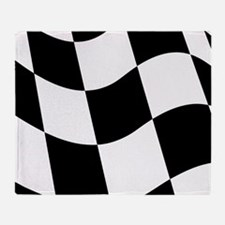 Checkered Flag Throw Blanket