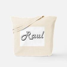 Raul Classic Style Name Tote Bag
