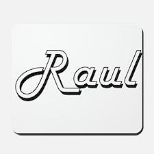 Raul Classic Style Name Mousepad