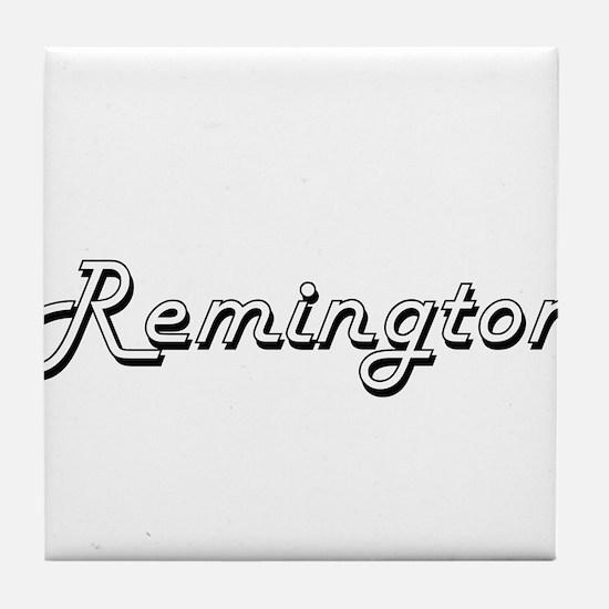 Remington Classic Style Name Tile Coaster