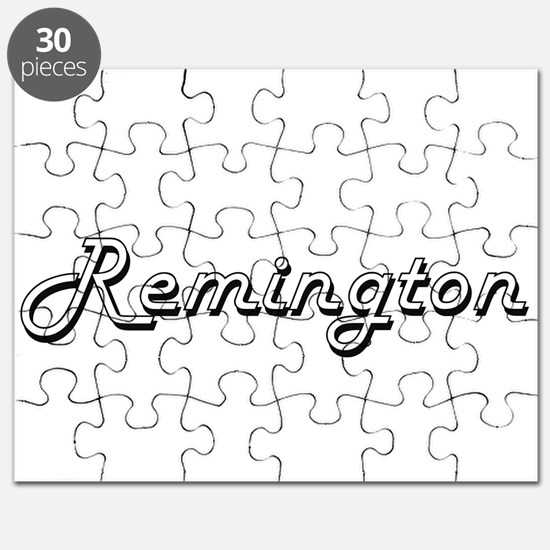 Remington Classic Style Name Puzzle