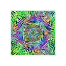 Hypnotic Star Burst Fractal Sticker