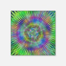 Hypnotic Star Burst Fractal Sticker