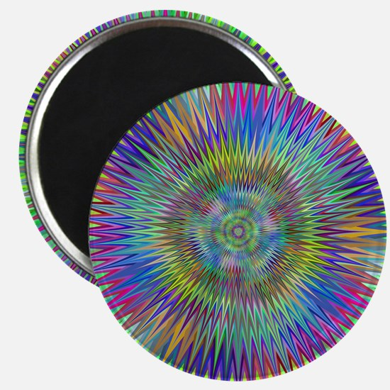 Hypnotic Star Burst Fractal Magnets