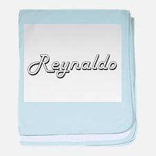 Reynaldo Classic Style Name baby blanket