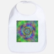 Hypnotic Star Burst Fractal Bib