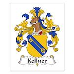 Kellner Family Crest Small Poster