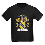 Kellner Family Crest Kids Dark T-Shirt