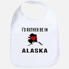 Id Rather Be In Alaska Bib