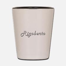 Rigoberto Classic Style Name Shot Glass