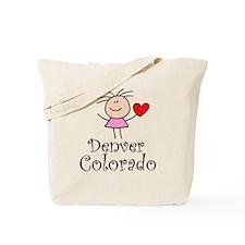Cute Denver Colorado Tote Bag
