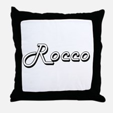 Rocco Classic Style Name Throw Pillow