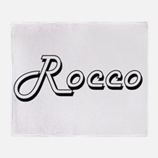 Rocco Classic Style Name Throw Blanket