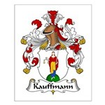 Kauffmann Family Crest Small Poster