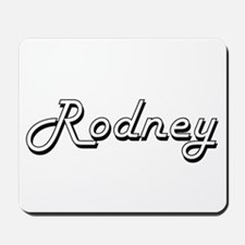 Rodney Classic Style Name Mousepad