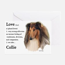 Rough Collie Greeting Cards (Pk of 20)