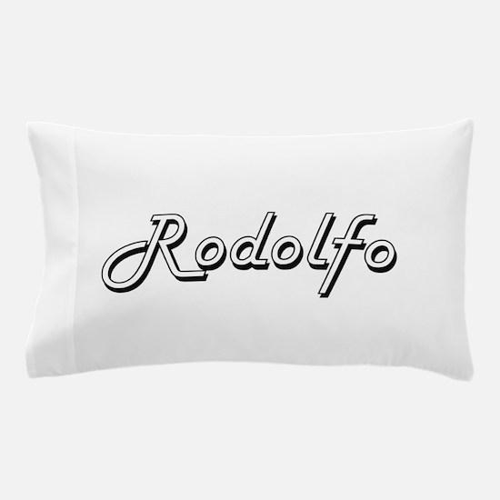 Rodolfo Classic Style Name Pillow Case
