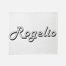 Rogelio Classic Style Name Throw Blanket