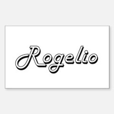 Rogelio Classic Style Name Decal