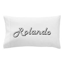 Rolando Classic Style Name Pillow Case