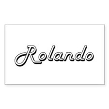 Rolando Classic Style Name Decal