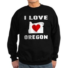 I Love Oregon Sweatshirt