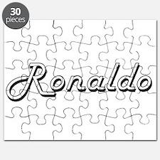 Ronaldo Classic Style Name Puzzle