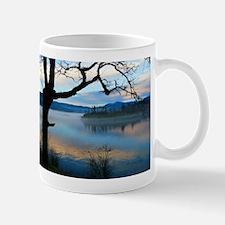 Tree Over Columbia River Mugs