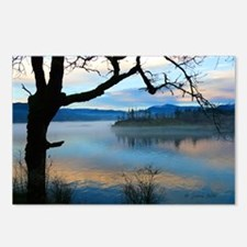 Tree Over Columbia River Postcards (Package of 8)
